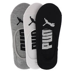 PUMA Women's P107815 Liner 3 Pack Socks