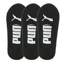 PUMA Women's P107815 Liner 3 Pack Socks