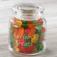 Personalized Glass Candy Dish