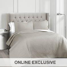 Lush Decor Ava Diamond Oversized Quilt 3-Piece Set