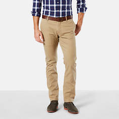 Dockers Men's Washed Khaki Slim Tapered Pants