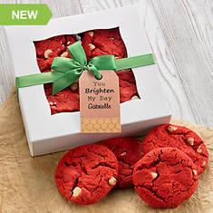 Personalized Soft Cookies Just For You-Red Velvet