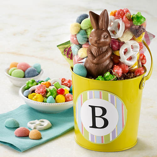 Personalized Spring Pail of Treats
