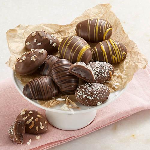Deluxe Chocolate Truffle Eggs
