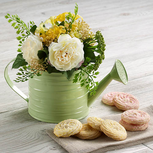 Bountiful Spring Bouquet & Cookies