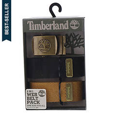 Timberland Men's 2-in-1 Web Belt Pack