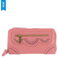 Jessica Simpson Harper Double Zip Around Wallet