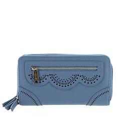Jessica Simpson Harper Double Zip Around Wallet