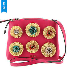 Nine West Levona Crossbody Bag With Poms