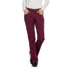 Cherokee Medical Uniforms LUXE SPORT Mid Rise Draw Pant