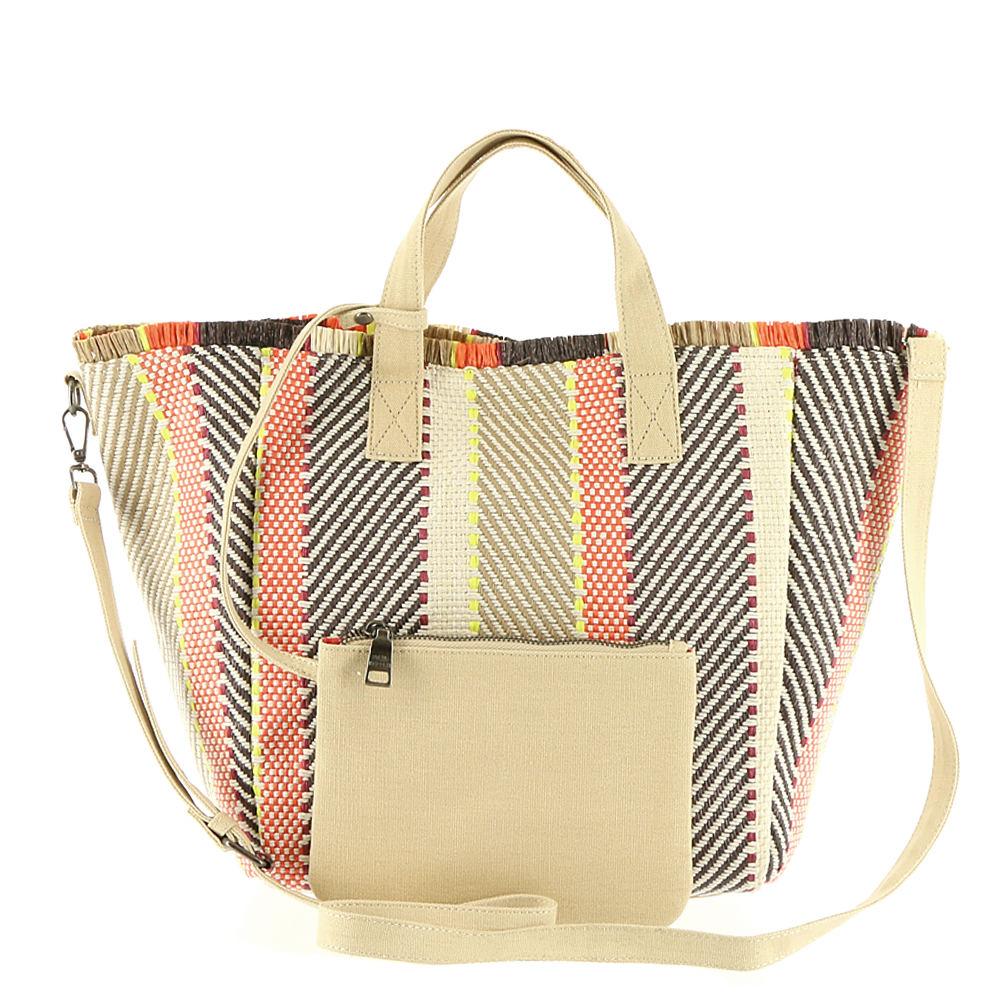 Steve Madden Mixed Straw Tote Bag At Nordstrom Rack Womens Handbags Totes