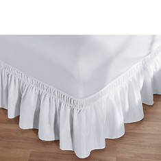 Ruffled Stretch Bed Skirt