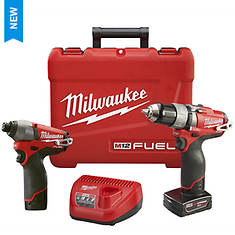 Milwaukee Tools M12 FUEL 2-Piece Combo Kit