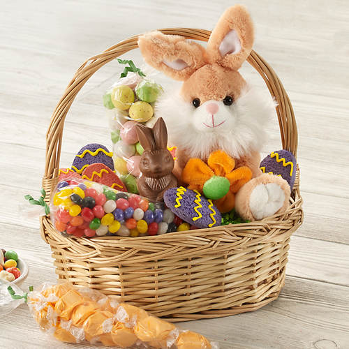 Bunny's Garden Basket