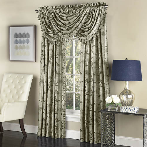 Floral Lustre Tailored Panel