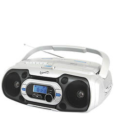 SuperSonic CD/Cassette/FM/Bluetooth Boombox