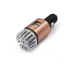 NewLink 12V Auto Air Purifier/USB Charger