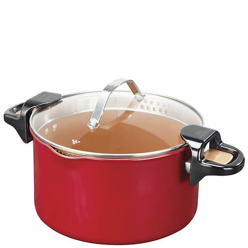 Red Copper 5-Qt. Better Pasta Pot