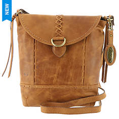 Born Woodcreek Distressed Crossbody Bag