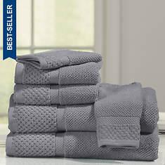 Diplomat 6-Piece Towel Set