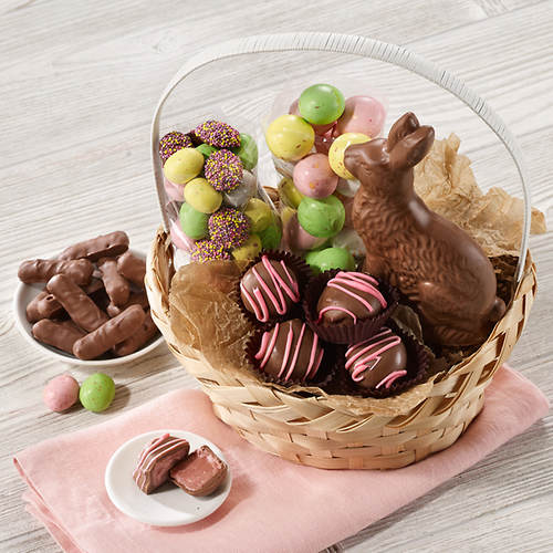Gourmet chocolate easter basket flavor out of stock figis gifts gourmet chocolate easter basket negle Gallery