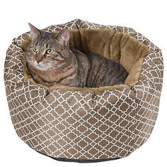 Lattice Cozy Cat Bed