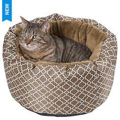Lattice Cozy Cat Bed