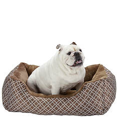 Lattice Cuddler Pet Bed