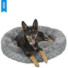 Lattice Round Pet Bed