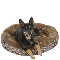 Lattice Round Pet Bed