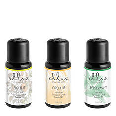 Ellia by Homedics Breathe Deep: Essential Oils 3-Pack