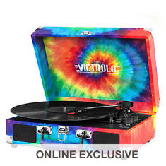 Victrola Suitcase Record Player with Turntable