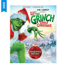 Dr Seuss' How The Grinch Stole Christmas (Blu-ray)