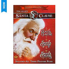 Walt Disney Santa Clause: 3 Movie Collection, 3-Disc (DVD)