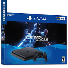PS4 Game System 1TB with Battle Front 2 Bundle