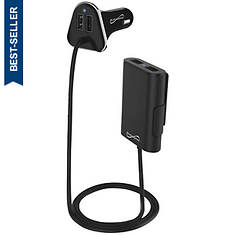 SuperSonic 4-Port Backseat Car Charger
