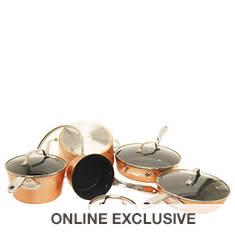 THE ROCK™ 10-Piece Copper Cookware Set