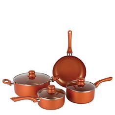 Brentwood 7-Piece Ceramic Aluminum Nonstick Cookware Set