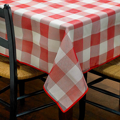 Bistro Check Tablecloth 60x84