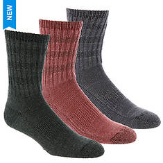 Wigwam Women's Gambol 3-Pack Crew Socks