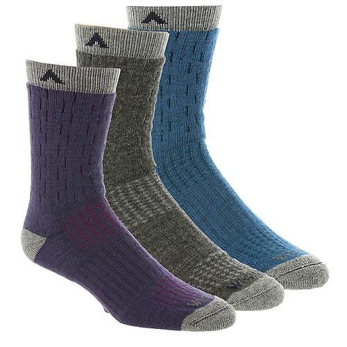 Wigwam Women's Montane 3-Pack Crew Socks