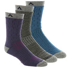 Wigwam Women's Montane 3-Pack Crew Socks