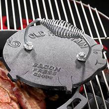 Cast Iron Pig Bacon Press
