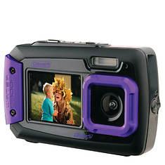 Coleman 20 Megapixel Duo2 Dual-Screen Waterproof Digital Camera