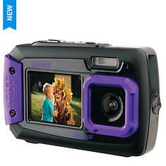 Coleman 20MP Duo2 Dual-Screen WP Digital Camera