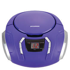 Sylvania Portable CD Player with AM/FM Radio