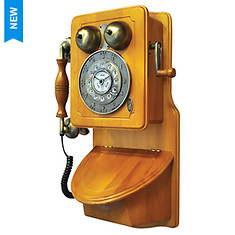 Pyle Retro Country Wall Mount Phone
