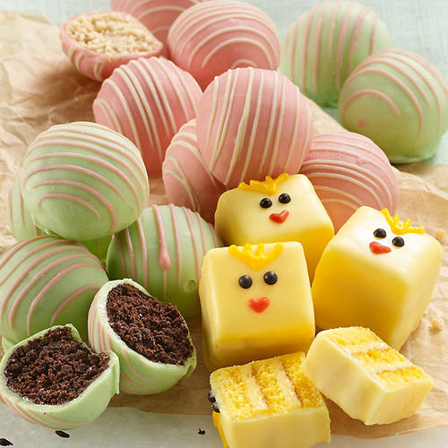 Chick Petits Fours & Cake Ball Assortment