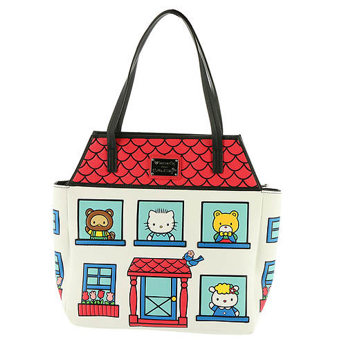 Loungefly Hello Kitty House Tote Bag