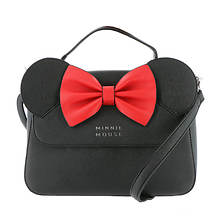 Loungefly x Disney Minnie Mouse Crossbody Bag with Ears and Bow